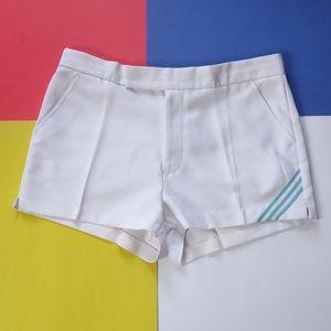 Vintage 1980s Women's Adidas White Tennis Shorts